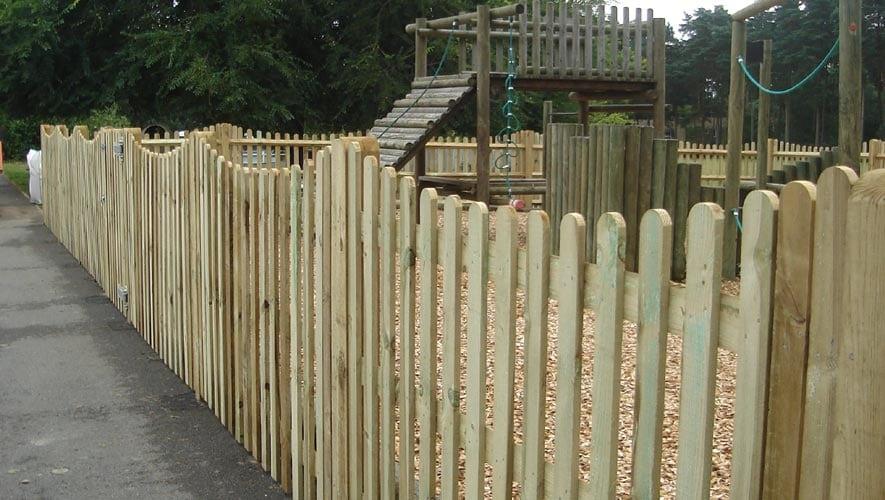 Timber Palisade