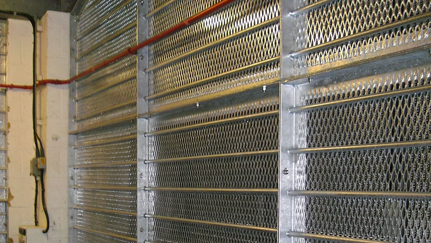 Expanded Metal Mesh Fencing